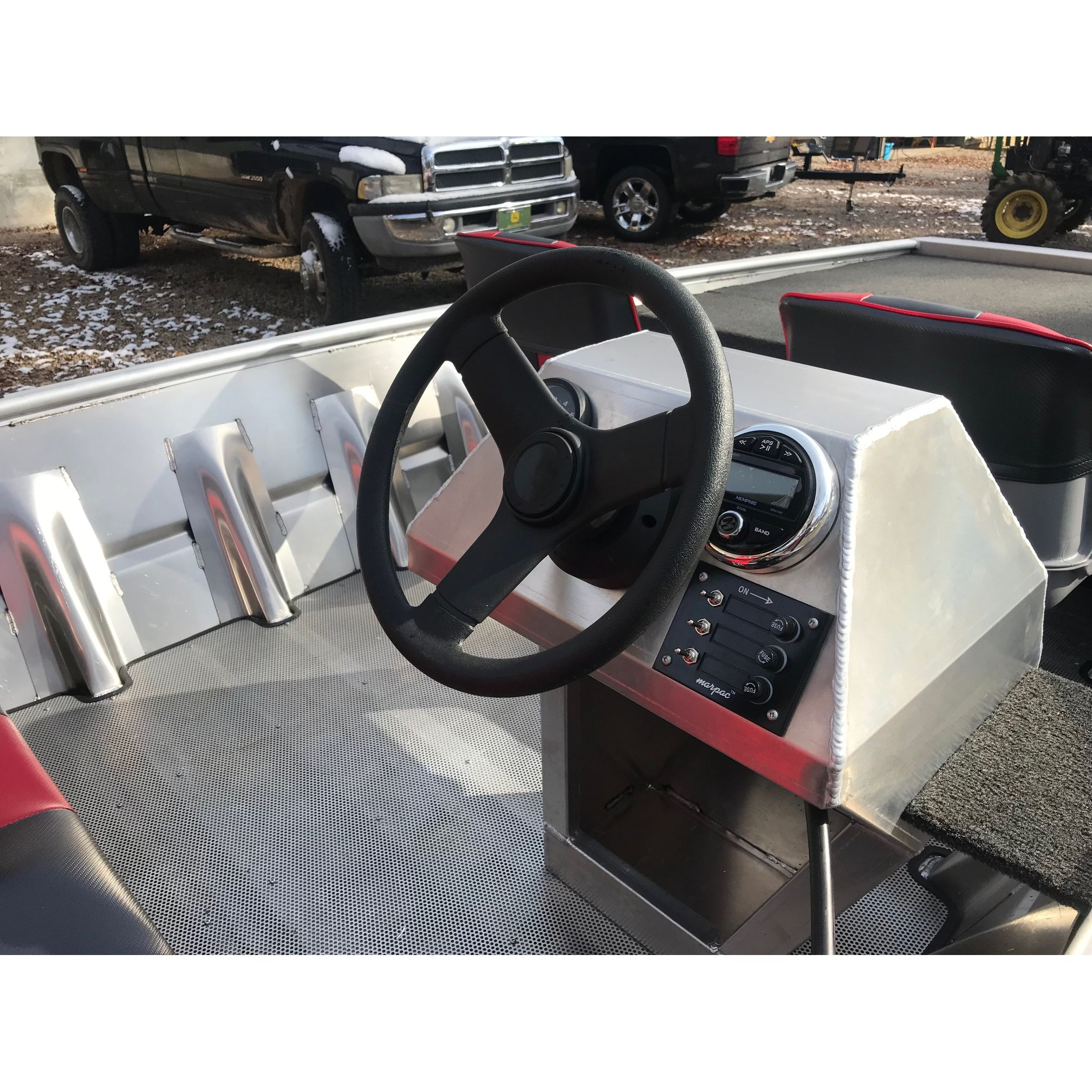 Boats New 2019 Blazer 1752ss 60 40 Special Bench Seat