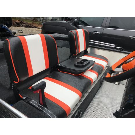CUSTOM BENCH SEAT 3 COLOR 3 PC BACK
